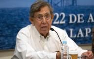 Cárdenas durante el foro de la Reforma Energética/ Fotover