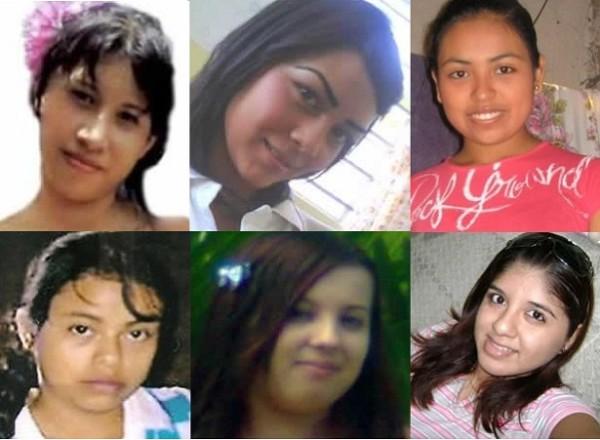 Mujeres jóvenes desaparecidas en Veracruz de acuerdo al portal de la Secretaria de Seguridad Pública del gobierno federal