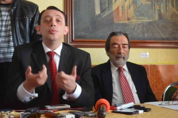 Abogados Luis Alberto Viades Blanco y Juan José Llañes Gil del Ángel/Fotover