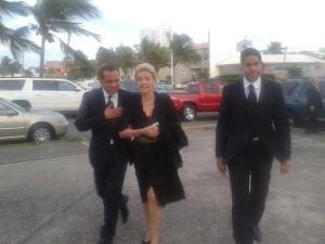 Fidel Herrera Beltrán llegó al sepelio de Juan Felipe Ruíz Ortiz/  Foto XEU