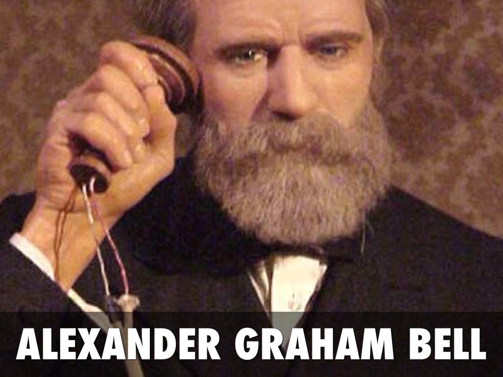 Alejandro Graham Bell patenta el teléfono en 1876 - Plumas libres