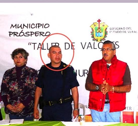 El ex director de Seguridad Pública de Hueyapan de Ocampo, Sergio Cervando Montalvo López involucrado en el asesinato de Gregorio Jiménez, apareció ejecutado en centro de Veracruz./ Foto Plumas Libres