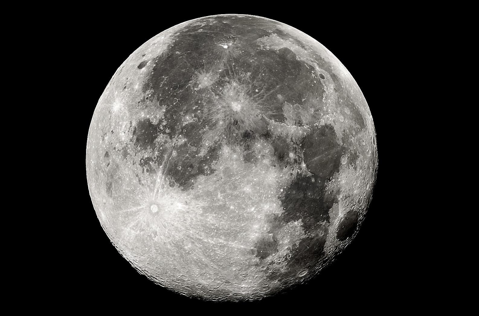 Sensacin Vintage: Luna dorada sobre m