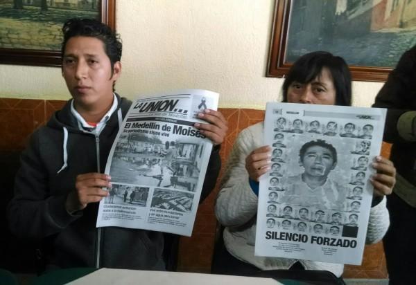 Jorge Sánchez Ordoñez hijo de Moisés Sánchez lamenta la lentitud de autoridades estatales y federales en investigación por asesinato de su padre