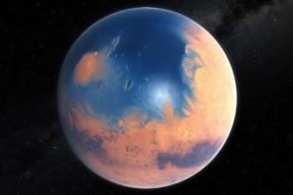La existencia de un océano en Marte apenas se confirmó, pero otras teorías sin fundamento siguen en el aire. Foto: ESO