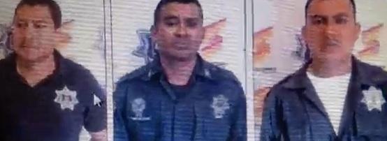 Detienen en Tlaxcala a policías de Cuitláhuac en patrulla y con dos personas que mantenían secuestra Polis2
