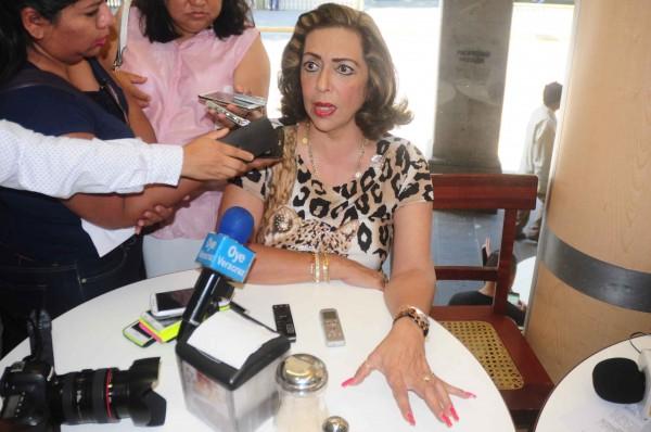 Conferencia ofrecida por Diana Toscanini abogada del caso Regina Martínez/Foto: Gustavo Mario-Fotover