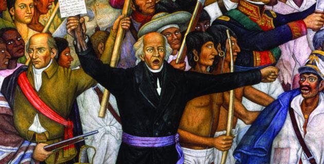 México Celebra El Grito De Independencia