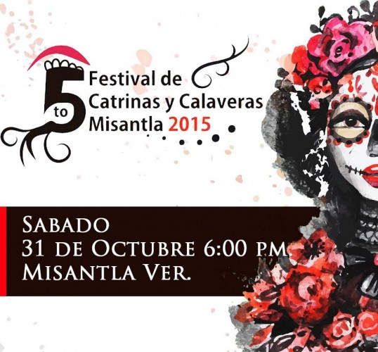 Convocan Al Festival De Catrinas Y Calaveras Misantla 2015 Plumas