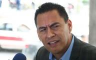 Manuel Arellano Méndez de la sección 56 dice que si es necesaria la seguridad para maestros el próximo fin de semana/  FOTO: VICTOR RIVERA/FOTOVER.