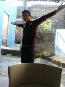 Naviel Pérez Pérez, de unos 24 años, el ministerio público de Coatzacoalcos no quiso levantar denuncia por desaparición