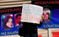 Protesta de madres y padres de desaparecidos en la Fiscalía de Veracruz el pasado 25 de Enero/Fotover