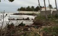 Una obra mal planeada está afectando a más de mil habitantes de costa en Alvarado/ Daniela Jácome