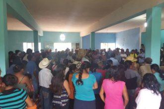Una vez más se organiza la gente de Tatahuicapan para salir a protestar por nulas obras recibidas