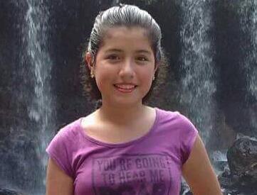 chica de 12 anos