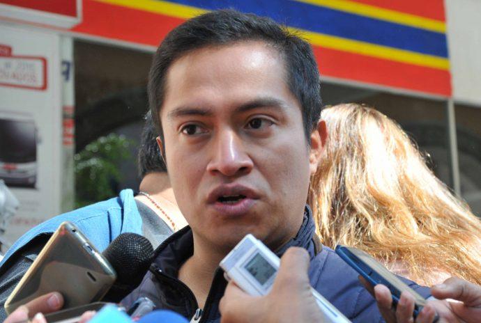 Jorge Morales, integrante de la Comision Estatal para la Atenciaon y Proteccion de Periodistas/Miguel Ángel Camona,Fotover