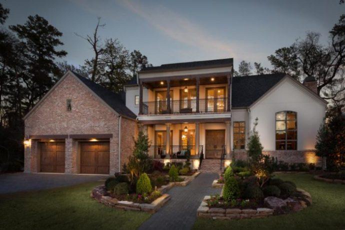 Prototipo de la casa en construcción que Javier Duarte adquirió en Texas. Foto: Frankel Building Group