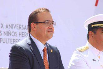 Javier Duarte, sólo le suspendieron sus derechos como priísta, aún no lo expulsan/ www.fotover.com.mx
