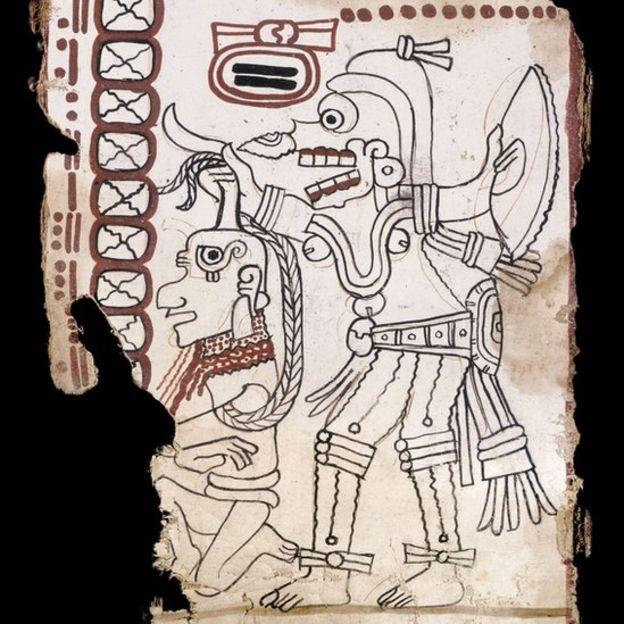 Grolier, el códice maya más antiguo de América - Plumas libres