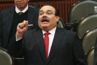 """Ni tantito"",  protegerá la bancada del PRI a Javier Duarte ante el inminente desafuero, según Jorge Carlos Ramirez Marin.."