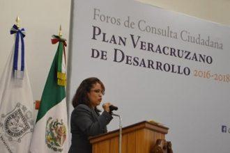 Consultas de elaboración del Plan Estatal de Desarrollo