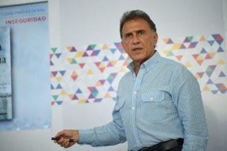 Miguel Yunes gobernador electo de Veracruz dice urgente intervención de gobierno federal en seguridad