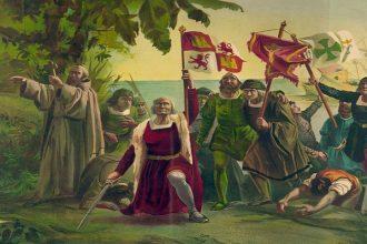 12 de Octubre de 1492 Cristobal Colón descubre América