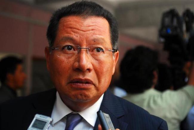 Flavino Ríos toma protesta a nuevo secretario de Gobierno de Veracruz