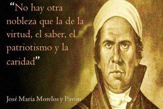 3 años después de iniciada la lucha por la Independencia de México, José María Morelos declara la abolición de la esclavitud