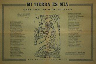 Antonio Mediz Bolio le escribió poesia a la cultura Maya
