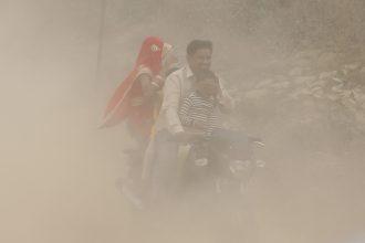 Nueva Delhi, India, es una ciudad irrespirable.../ EFE