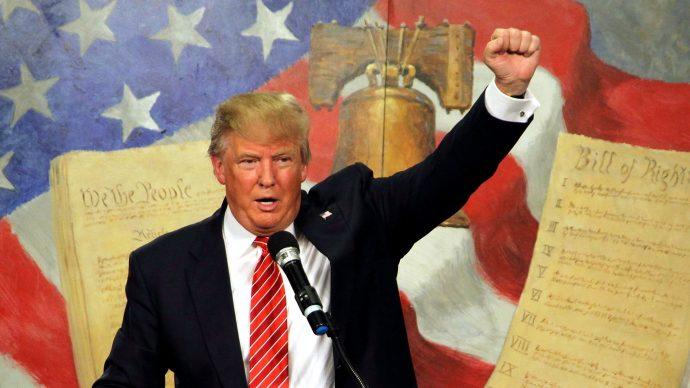 Donald Trump propone el MURO, México lo pagará