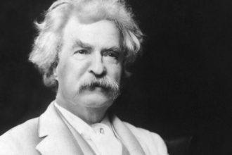 """Mark Twain autor de """"las Aventuras de Tom Sawyer"""""""