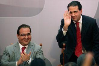 Salvador Manzur ex secretario de finanzas, ex delegado de Banobras, compadre de Javier Duarte de Ochoa, tiene 3 denuncias en contra y la PGR no procede