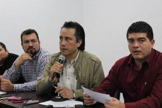 El diputado federal por MORENA de Xalapa y los diputados locales que habían prometido asistir a la evaluación, se hicieron humo.