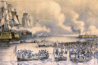 El bombardeo a Veracruz fue el inicio de la guerra de los Pasteles
