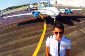 Jorge Eduardo Torres León, copiloto de la avioneta que cayó al mar del Golfo de México