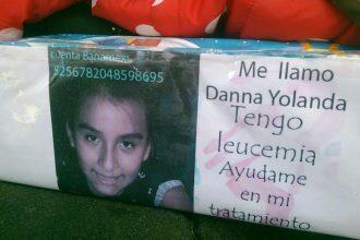 Danna Yolanda Macías Ortiz tiene 10 años de edad, sus padres piden el apoyo de la sociedad para salvarle la vida/ Paco de Luna