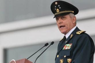 Salvador Cienfuegos secretario de Defensa Nacional