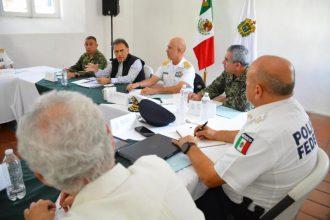 En esta reunión se definieron acciones concretas para mejorar la seguridad en el Estado