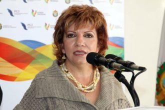 Gina Dominuez Colio ex coordinadora de Comunicación Social del gobierno de Javidú
