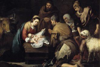 Nacimiento de Jesús, de Murillo