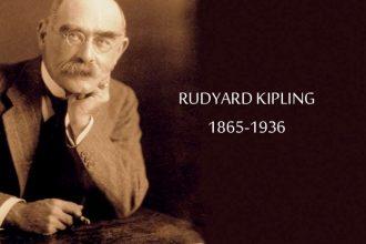 Rudyard Kipling escritor y poeta inglés