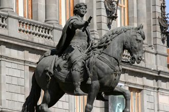 Obra a cargo de Manuel Tolsá, y que adorna a la gran y hermosa ciudad capital