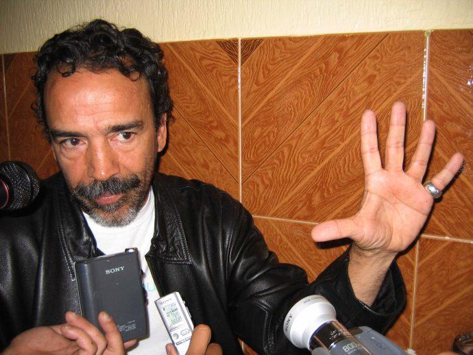 El actor Damian Alcázar en una de sus visitas a Xalapa/Fotover