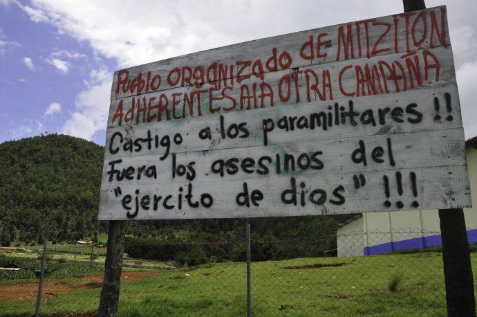 Comunicades en Chiapas adheridas al EZLN/Fotover-archivo