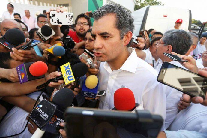 El presidente del Comité Ejecutivo Nacional del PRI, Enrique Ochoa Reza/Fotover