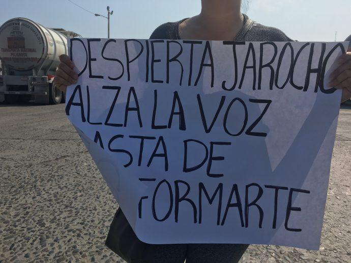 Ciudadanos del Movimiento #DespiertaJarocho/Plumas Libres