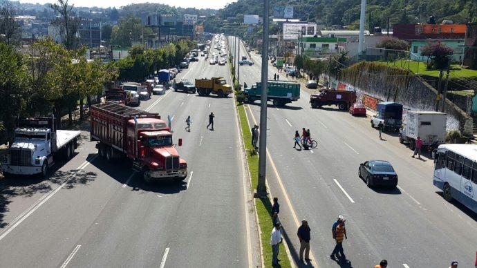 Protesta en Xalapa/Plumas Libres