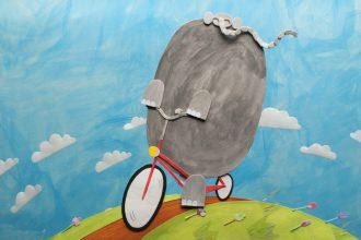 Still del corto La Bicicleta del Elefante
